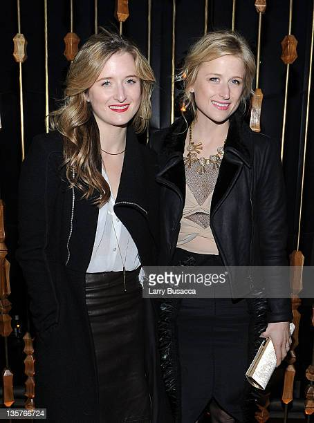 Grace Gummer and Mammie Gummer attend the 'The Iron Lady' New York premiere after party at The Royalton Hotel on December 13 2011 in New York City
