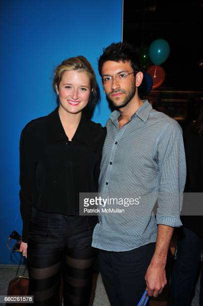 Grace Gummer and Paul Arnhold attend ASSOCIATION to BENEFIT CHILDREN hosts COCKTAILS IN CANDYLAND at Dylan's Candy Bar on June 18 2009 in New York...