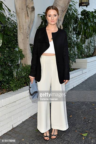 Grace Gummer at the CFDA/Vogue Fashion Fund Show and Tea presented by kate spade new york at Chateau Marmont on October 26 2016 in Los Angeles...