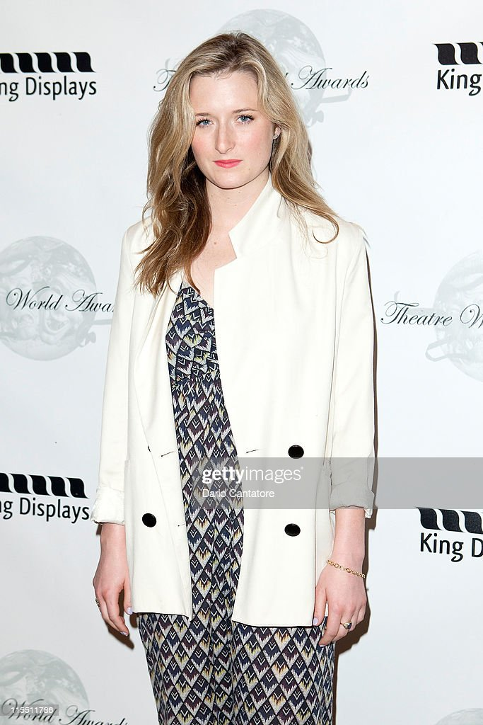 Grace Gummer attends the 67th annual Theatre World Awards Ceremony at the August Wilson Theatre on June 7, 2011 in New York City.