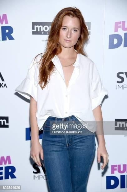 Grace Gummer attends the screening Of 'Fun Mom Dinner' at Landmark Sunshine Cinema on August 1 2017 in New York City