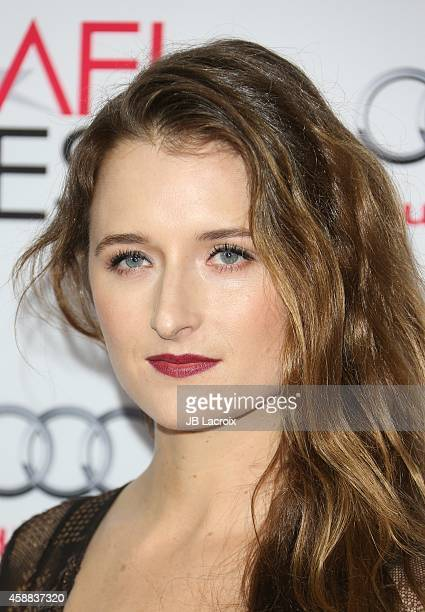 Grace Gummer attends the 'The Homesman' premiere during AFI FEST 2014 presented by Audi at the Dolby Theater on November 11 2014 in Hollywood...
