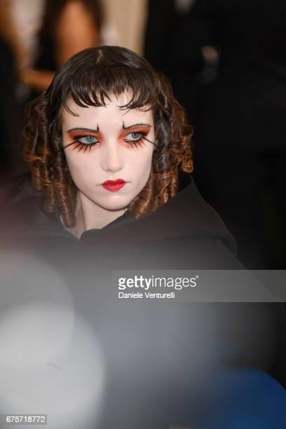 Grace Hartzel attends 'Rei Kawakubo/Comme des Garcons Art Of The InBetween' Costume Institute Gala Arrivals at Metropolitan Museum of Art on May 1...