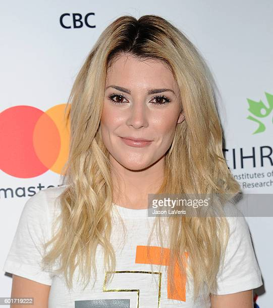 Grace Helbig attends Stand Up To Cancer 2016 at Walt Disney Concert Hall on September 9 2016 in Los Angeles California