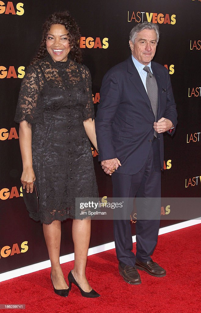 <a gi-track='captionPersonalityLinkClicked' href=/galleries/search?phrase=Grace+Hightower&family=editorial&specificpeople=211382 ng-click='$event.stopPropagation()'>Grace Hightower</a> and actor <a gi-track='captionPersonalityLinkClicked' href=/galleries/search?phrase=Robert+De+Niro&family=editorial&specificpeople=201673 ng-click='$event.stopPropagation()'>Robert De Niro</a> attend the 'Last Vegas' premiere at the Ziegfeld Theater on October 29, 2013 in New York City.