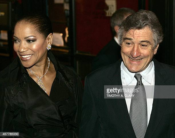 Grace Hightower and actor/director Robert De Niro attend the World Premiere of 'The Good Shepherd' presented by Universal Pictures at the Ziegfeld...