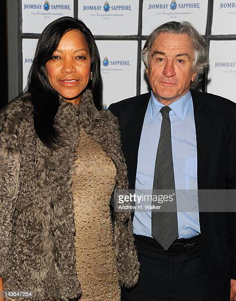 Grace Hightower and cofounder of the Tribeca Film Festival Robert De Niro attends the Tribeca Film Festival Closing Night Party hosted by Bombay...