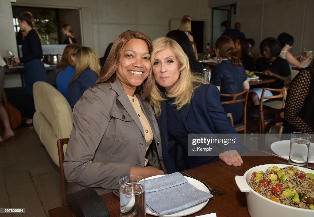 Grace Hightower and Judith Light attend the VIP Lunch In Honor Of Travelzoo at Spring Place on June 19, 2017 in New York City. Travelzoo is the only publicly traded company in the USA with an 80% female board of directors.