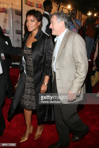 Grace Hightower and Robert De Niro attend Universal Pictures presents The World Premiere of Baby Mama at Ziegfeld Theatre on April 23 2008 in New...