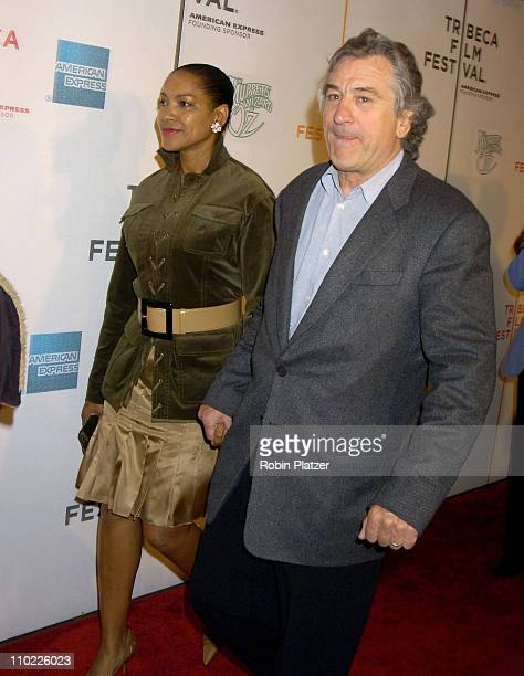 Grace Hightower and Robert De Niro during 4th Annual Tribeca Film Festival 'The Muppets' Wizard of Oz' Premiere at The Tribeca Performing Arts Center...
