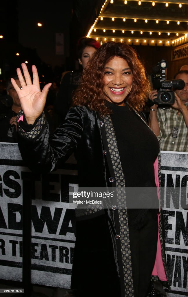 Grace Hightower attends the opening night performance for 'Springsteen on Broadway' at The Walter Kerr Theatre on October 12, 2017 in New York City.
