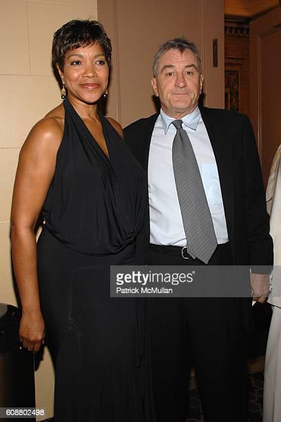 Grace Hightower DeNiro and Robert DeNiro attend AMERICAN BALLET THEATRE 2007 Fall Gala at City Center Mandarin Oriental Hotel on October 23 2007 in...