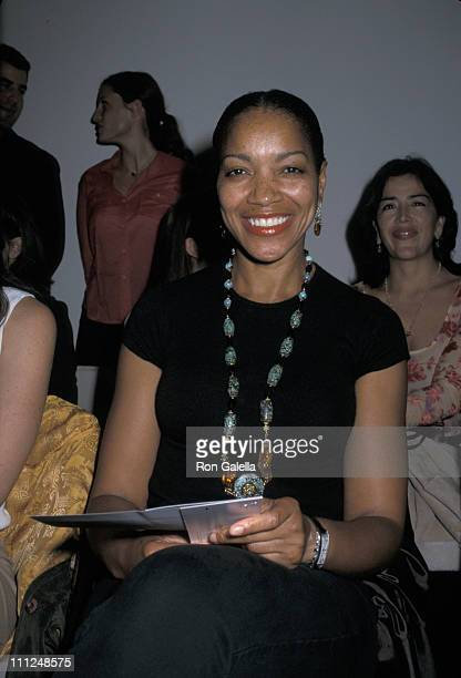 Grace Hightower during Anan Jon's Spring Fashion Show at Collezioni Showroom in New York City New York United States