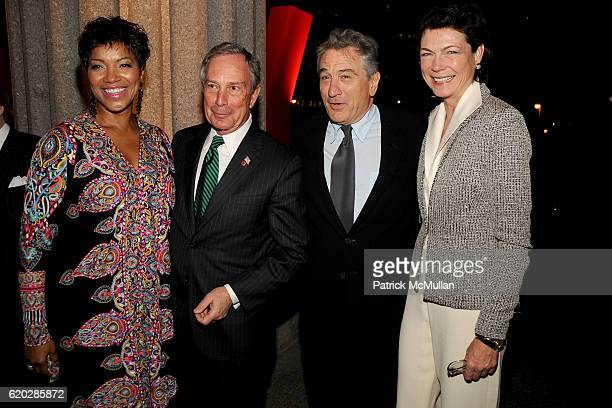 Grace Hightower Mayor Michael Bloomberg Robert De Niro and Diana Taylor attend VANITY FAIR Tribeca Film Festival Party hosted by GRAYDON CARTER...