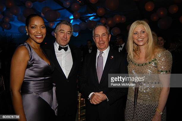 Grace Hightower Robert DeNiro Michael Bloomberg and Cynthia Lufkin attend The JUILLIARD Centennial Gala Live at Lincoln Center at The Juilliard...