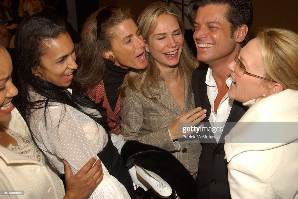 Grace Hightower Susan Fales Hill Somers Farkas Valesca Guerrand Hermes Douglas Hannant and Muffie Potter Aston attend Douglas Hannant Fall 2005...
