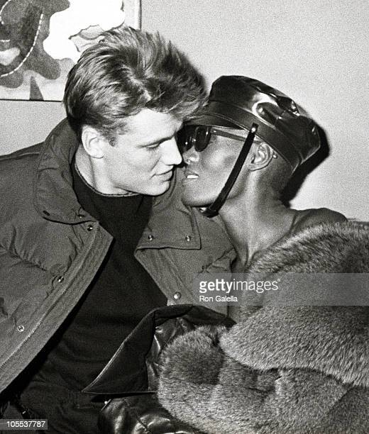 Dolph Lundgren And Grace Jones Stock Photos and Pictures ...