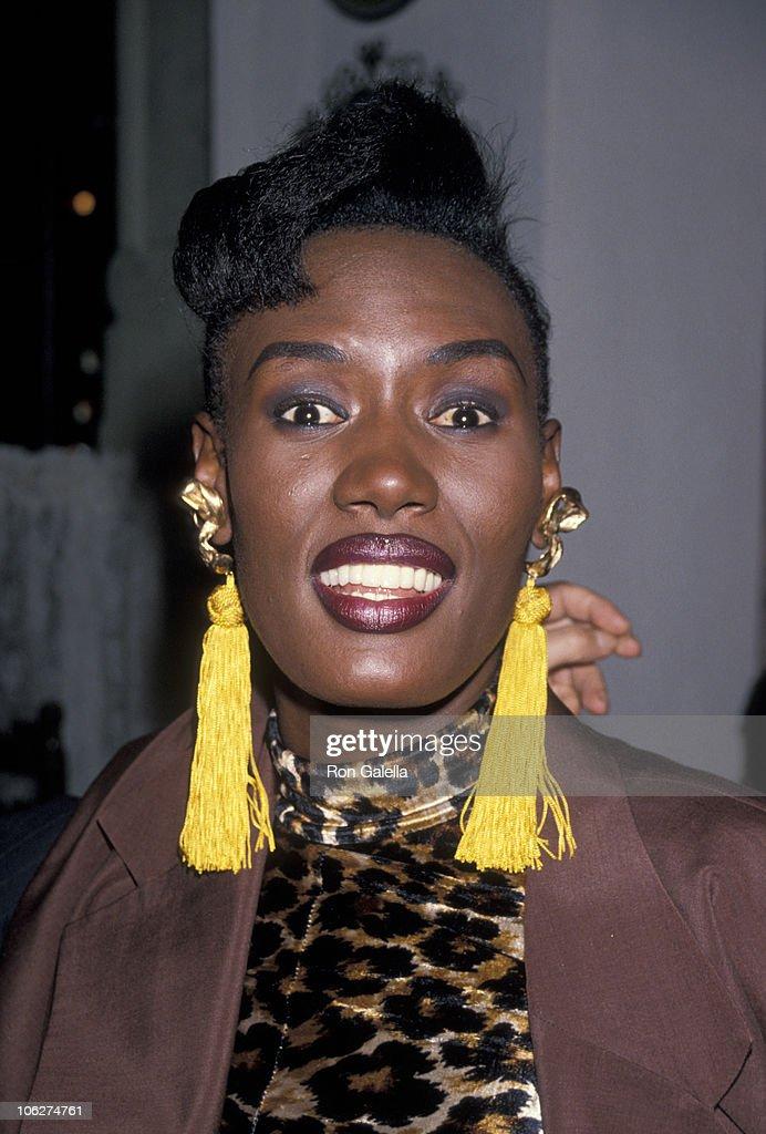 Grace Jones Sighting at Pamplona Restaurant in New York City - May 24, 1990
