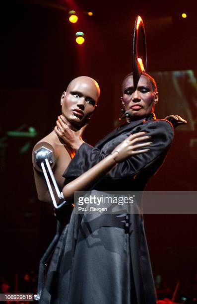 Grace Jones performs on Night of the Proms at Gelredome on November 13 2010 in Arnhem Netherlands
