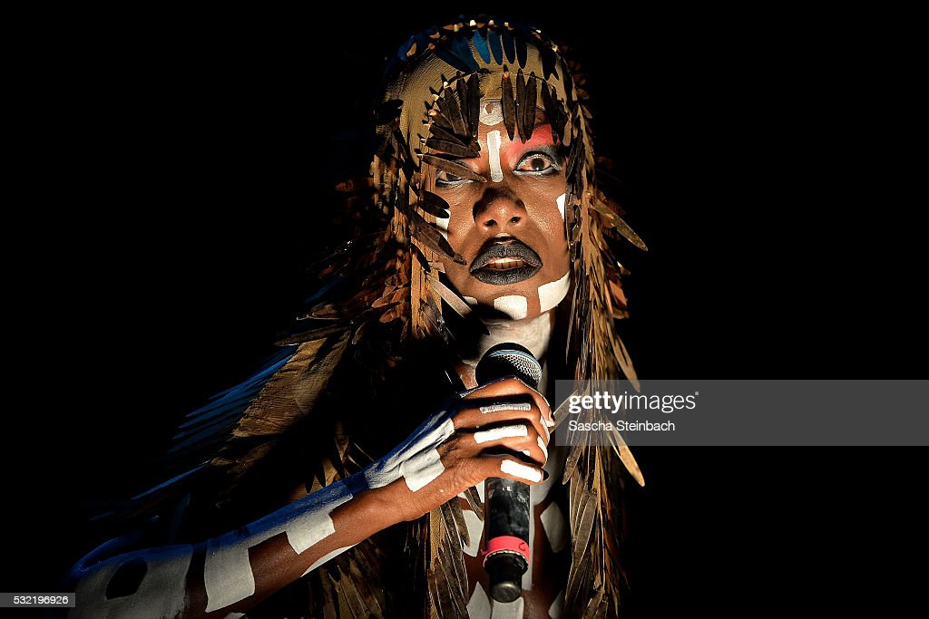 Grace Jones performs on stage at EWerk on May 18 2016 in Cologne Germany