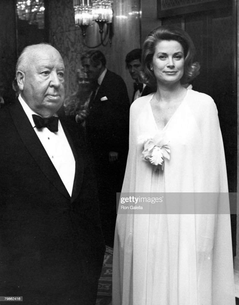 Grace Kelly & Alfred Hitchcock