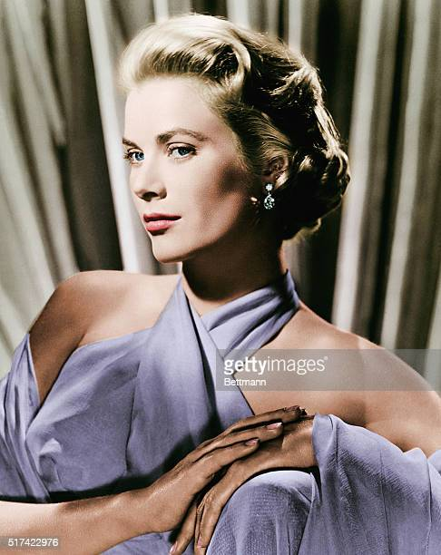Grace Kelly in a 1950s portrait at the height of her film career