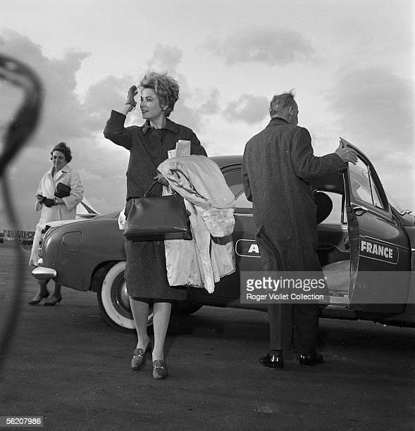 Grace Kelly Monaco princess Orly march 1961