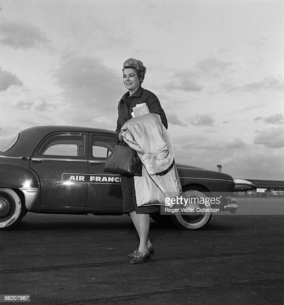 Grace Kelly Monaco princess Orly march 1961