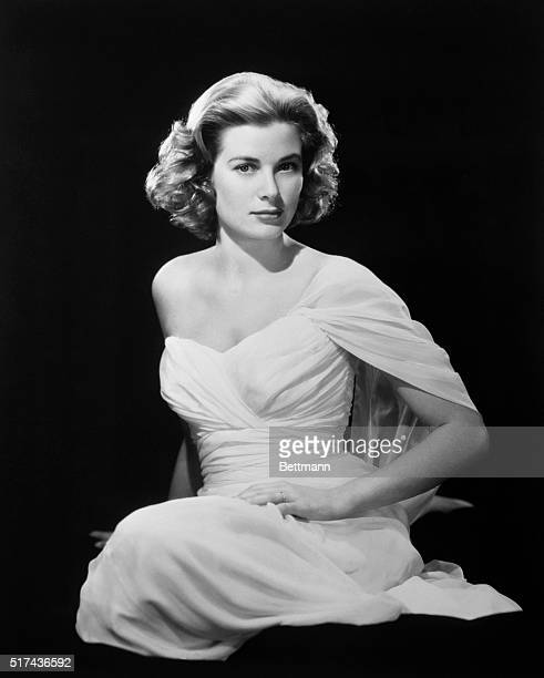 Grace Kelly movie actress who is to become a princess next month thinks this photograph of her is 'too sexy' according to Paramount photographer Bud...