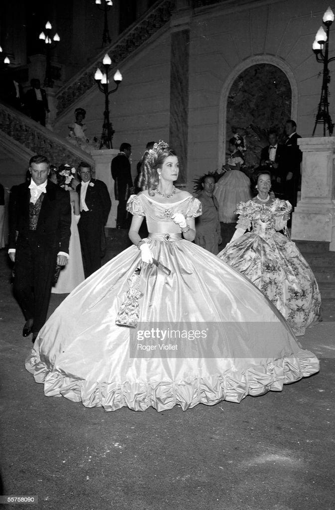 Grace Kelly, princess of Monaco. HA
