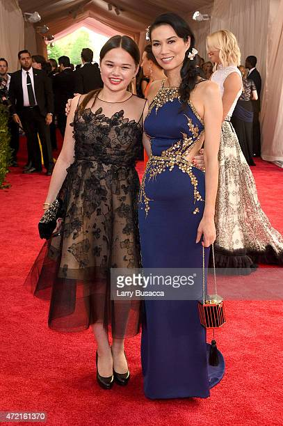Grace Murdoch and Wendi Murdoch attend the 'China Through The Looking Glass' Costume Institute Benefit Gala at the Metropolitan Museum of Art on May...