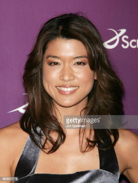 Grace Park arrives at the 2008 Sci Fi Channel UpFront at the MorganLibrary on March 18 2007 in New York City