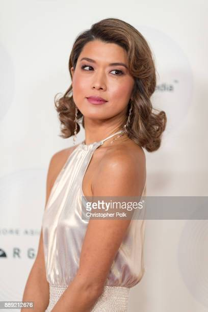 Grace Park arrives to at The 16th Annual Unforgettable Gala held at The Beverly Hilton Hotel on December 9 2017 in Beverly Hills California