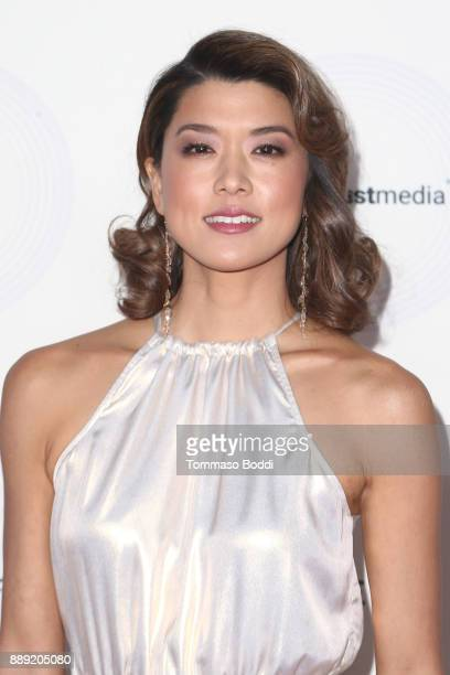 Grace Park attends the 16th Annual Unforgettable Gala at The Beverly Hilton Hotel on December 9 2017 in Beverly Hills California
