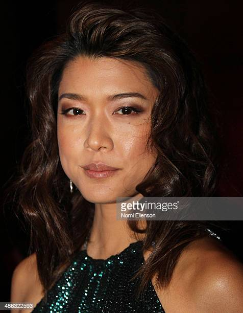 Grace Park attends the 2014 APEX For Youth Inspiration Awards Gala Dinner at Cipriani Wall Street on April 23 2014 in New York City