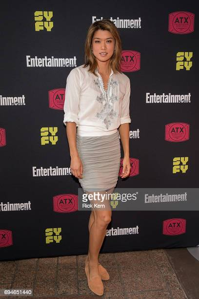Grace Park attends the closing night reunion panel of Battlestar Galactica and afterparty presented by Entertainment Weekly and SYFY during the ATX...