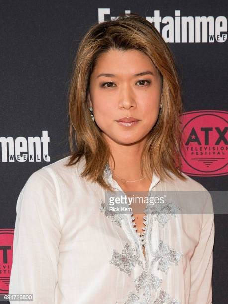 Grace Park attends the closing night reunion panel of Battlestar Galactica presented by Entertainment Weekly and SYFY during the ATX Television...