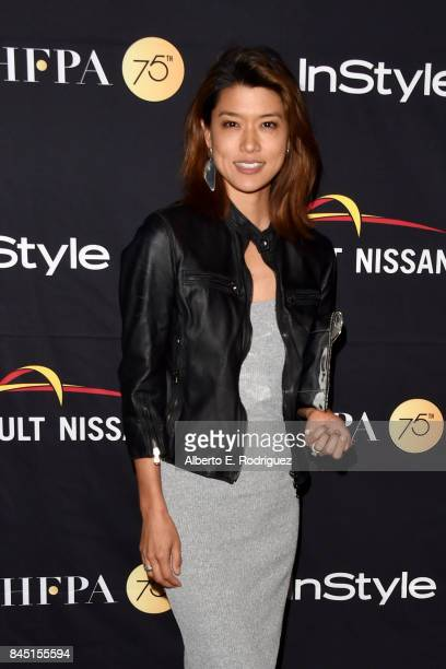 Grace Park attends the HFPA InStyle annual celebration of 2017 Toronto International Film Festival at Windsor Arms Hotel on September 9 2017 in...