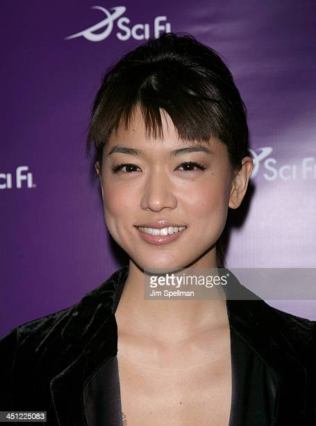 Grace Park during Sci Fi Channel 2007 Upfront Party at STK in New York City New York United States
