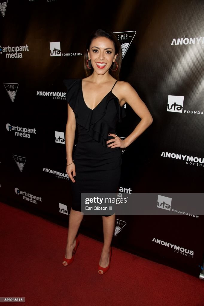 Grace Parra attends Fueza Mexico Fundraiser at Conga Room on October 26, 2017 in Los Angeles, California.