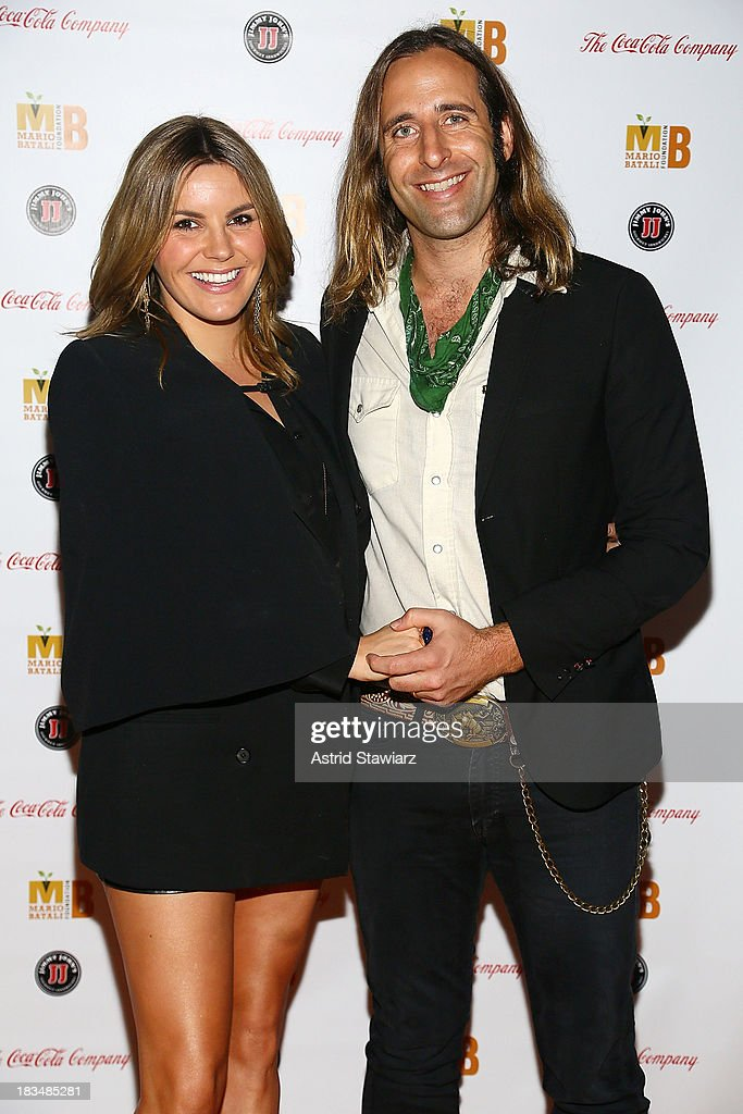 <a gi-track='captionPersonalityLinkClicked' href=/galleries/search?phrase=Grace+Potter&family=editorial&specificpeople=2963080 ng-click='$event.stopPropagation()'>Grace Potter</a> and Matt Burr attend 2nd Annual Mario Batali Foundation Honors Dinner at Del Posto Ristorante on October 6, 2013 in New York City.