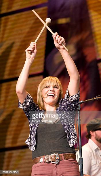 Grace Potter and the Nocturnals perform at the Farm Aid concert at the Comcast Center in Mansfield