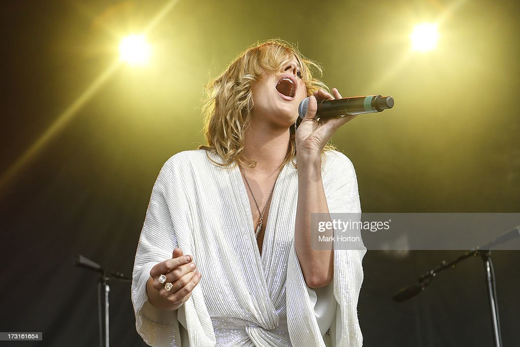 Grace Potter of Grace Potter and the Nocturnals perfom on Day 5 of the RBC Royal Bank Bluesfest on July 8, 2013 in Ottawa, Canada.