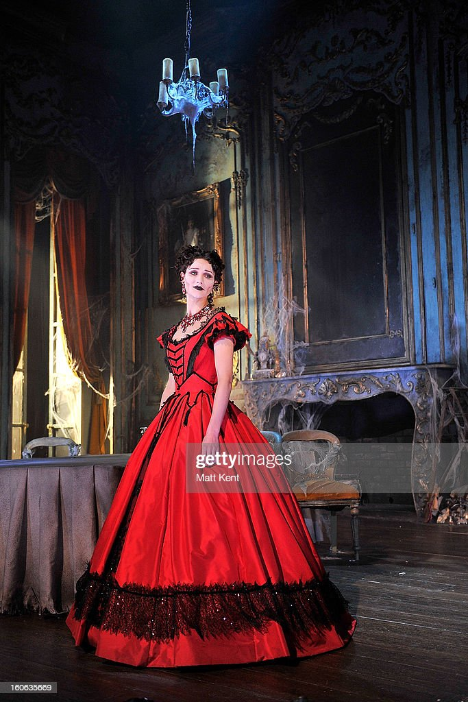 Grace Rowe as Estella poses during a photcall for 'Great Expectations' at Vaudeville Theatre on February 4, 2013 in London, England.