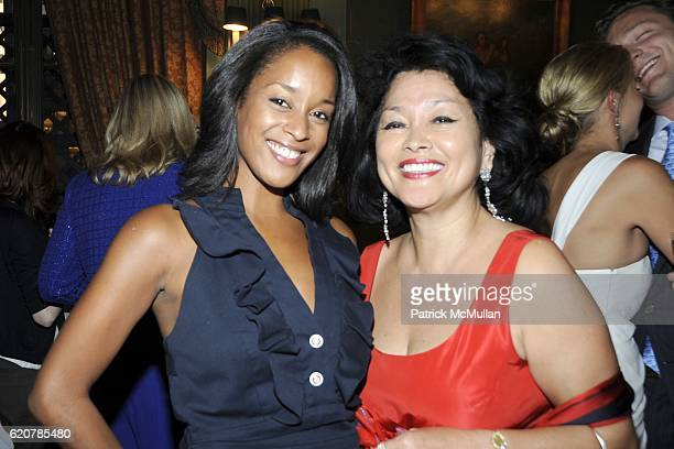 Grace Savage and Lolita Savage attend The Parents of GENEVIEVE BARTLETT BAHRENBURG and PHILIP EMILE GAUCHER JR Host The Engagement of Their Children...