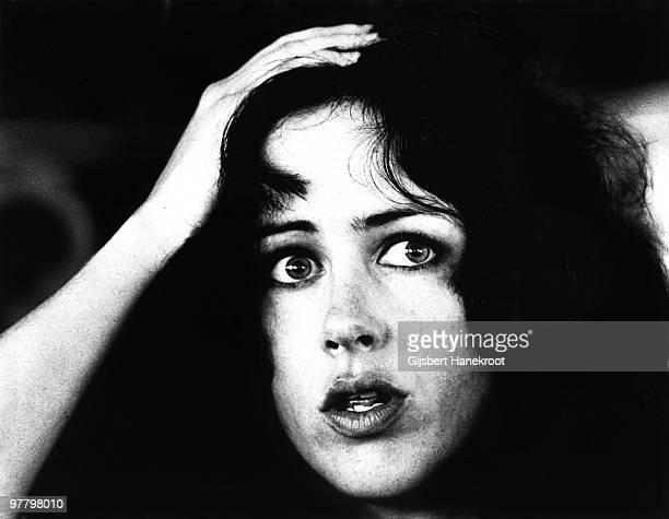 Grace Slick from Jefferson Airplane posed at Kralingen Festival in Rotterdam Holland on June 26 1970