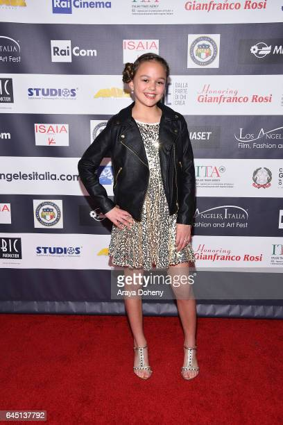 Grace Townsend attends the 12th Edition of the Los Angeles Italia Film Fashion and Art Fest at TCL Chinese 6 Theatres on February 24 2017 in...