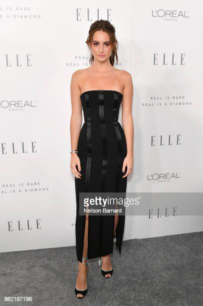 Grace Van Patten attends ELLE's 24th Annual Women in Hollywood Celebration presented by L'Oreal Paris Real Is Rare Real Is A Diamond and CALVIN KLEIN...