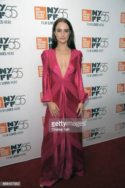 Grace Van Patten attends 'Meyerowitz Stories' screening during the 55th New York Film Festival at Alice Tully Hall on October 1 2017 in New York City