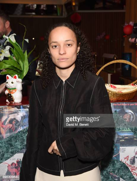 Grace Wales Bonner attends Choreomania by the Theo Adams Company at Hoi Polloi Ace hotel on June 12 2017 in London England